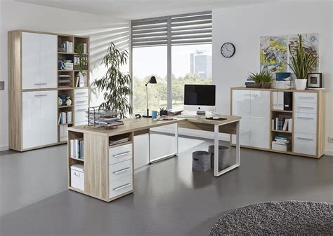 Arbeitszimmer Büromöbel Büro Maja Möbel Set+ Set Plus Set 4
