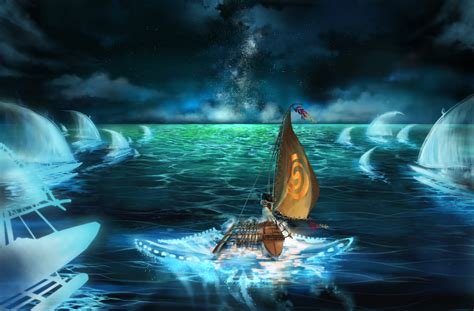 Moana Ancestor Boat by Moana By Poutanko On Deviantart