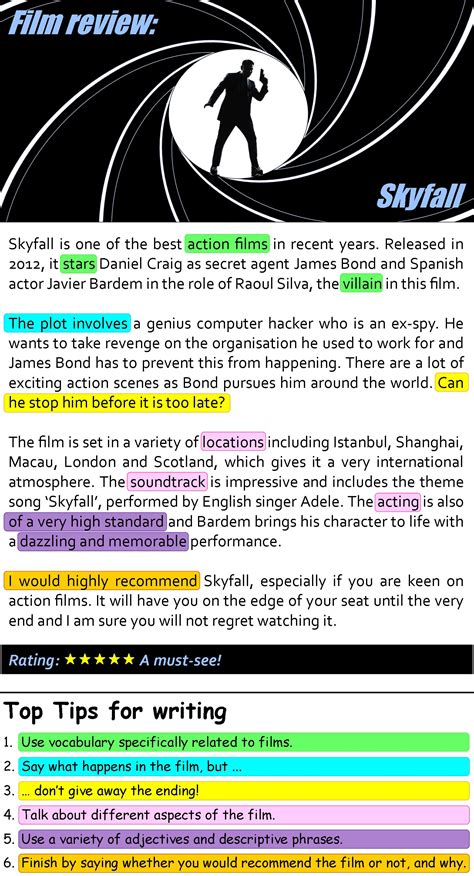 skyfall film review learnenglish teens british council