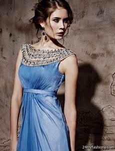 steel blue dress 2016-2017   B2B Fashion