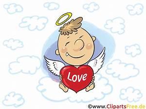 Engel Mit Herz Liebesgruss Liebe GB Bild Comic