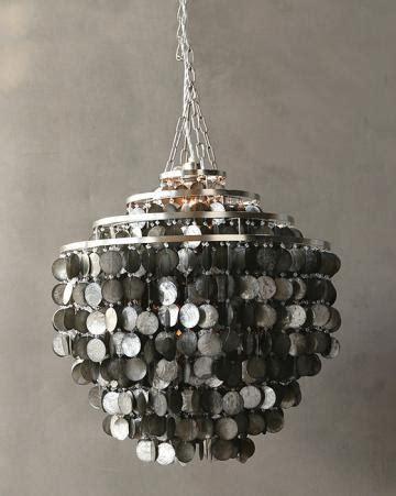 capiz shell chandelier silver capiz shell chandelier