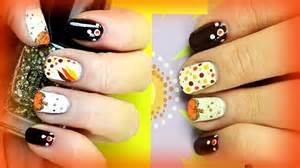 Thanksgiving nail art designs for beginners diy easy
