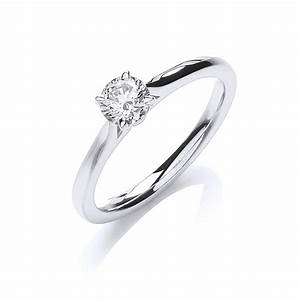 single stone brilliant cut diamond engagement ring 040ct With single diamond wedding ring