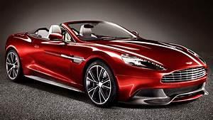 Aston Martin's Top-Less Luxury Vanquish Volante Unveiled