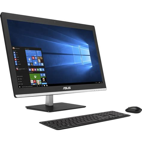 prix d un ordinateur de bureau asus ordinateur all in one v220iagk ba001x pas cher