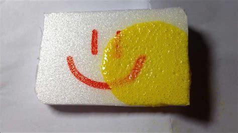 spray paint styrofoam  melting  foam