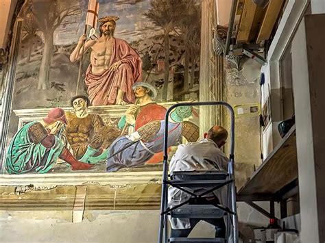 piero della francesca painting  restored