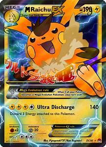 Pokemon Mega Raichu Ex Card Images | Pokemon Images