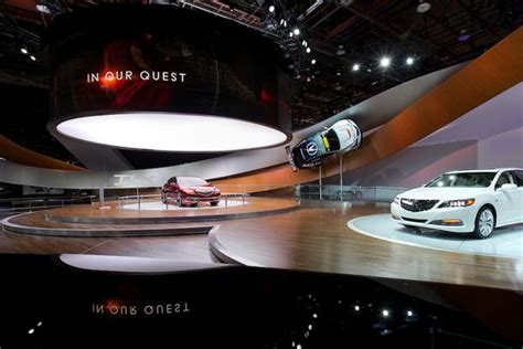 Acura Global Motor Show Stand @ Detroit Auto Show 2014 By