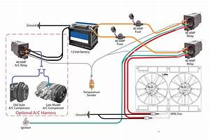 Wiring Safely  Fan Relay Wiring With C U0026r Racing