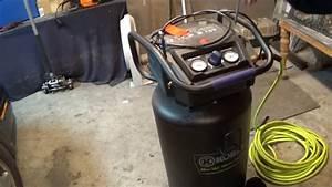 Kobalt 20 Gallon Stand Up Air Compressor Review