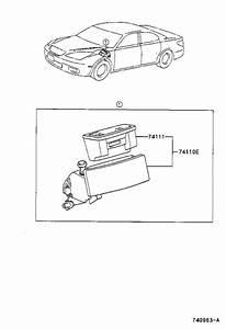 Lexus Es 300 Box  Front Ashtray Receptacle  Interior  Body