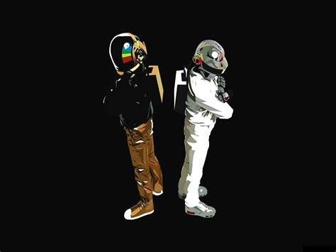 Daft Punk Edm Minimalism, Hd Music, 4k Wallpapers, Images