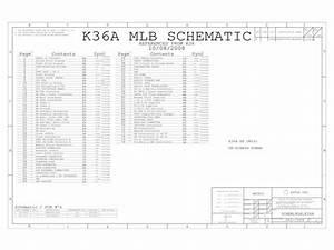 Apple Macbook A1181 Logic Board Schematic  U2013 820