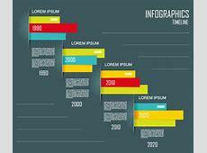 Dark Timeline Infographic Vector Free Vector Graphic