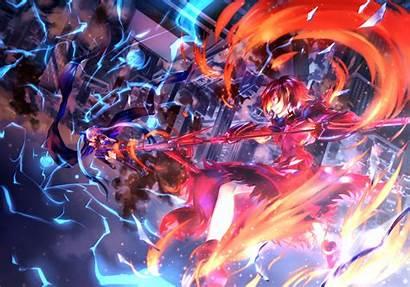 Anime Fate Testarossa Nanoha Magical Wallpapers Dual
