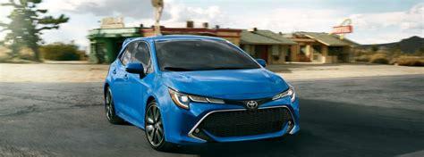 toyota corolla hatchback trim levels cost
