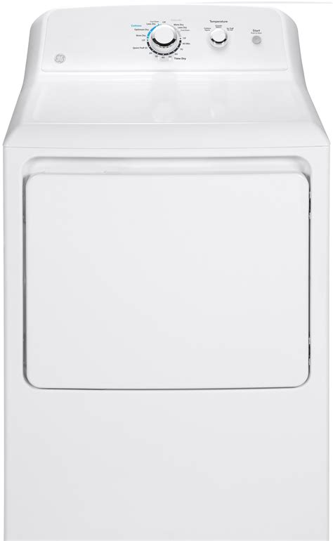 general electric gtxgaskww   smart aluminized alloy drum gas dryer white