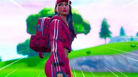 New Ruby Skin Gameplay In Fortnite Battle Royale Youtube