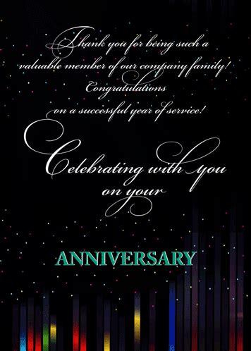 congratulations employee anniversary  business