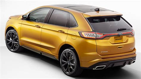 Ford Suv 2015 by Ford Edge Suv Chance For Australia Car News Carsguide