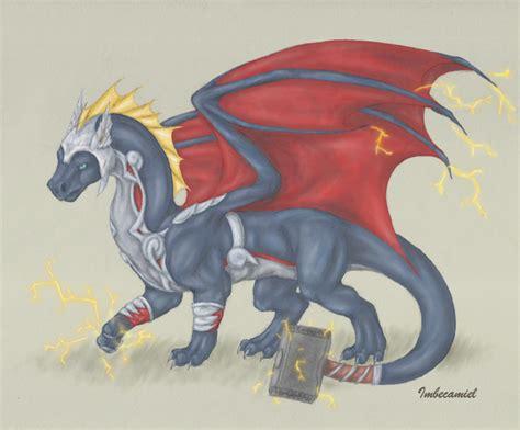Thor Dragon By Imbecamiel On Deviantart