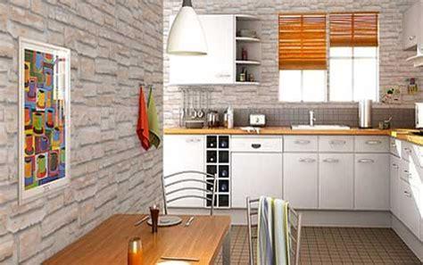 papier peint pour cuisine blanche papier peint cuisine 20 exemples déco pour l 39 adopter