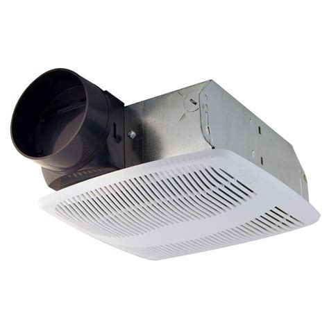 duct free bathroom ventilation fan air king advantage 50 cfm ceiling exhaust fan with 4 in