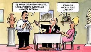 Rechnung Griechisch : euro ger chte von harm bengen politik cartoon toonpool ~ Themetempest.com Abrechnung