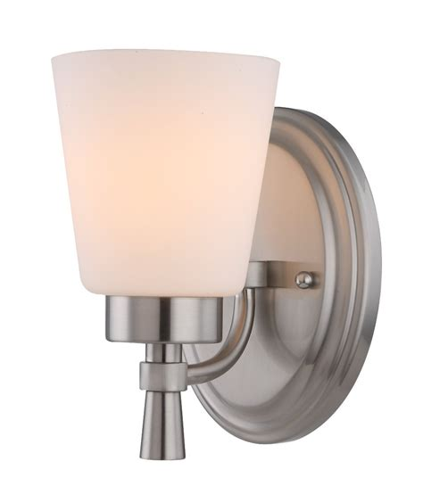chrome vanity wall light wall sconce light brushed chrome e27 in 27cm maxim