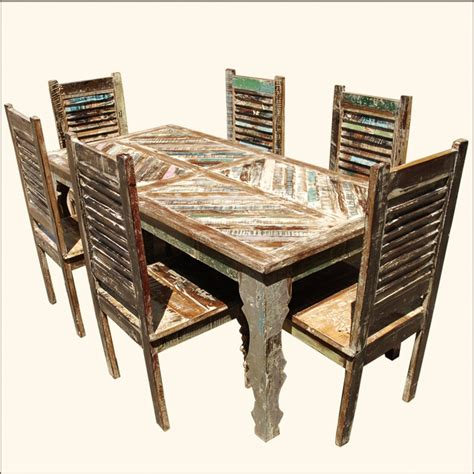 reclaimed wood kitchen table and chairs 237 best kitchen tables and chairs with wheels and more