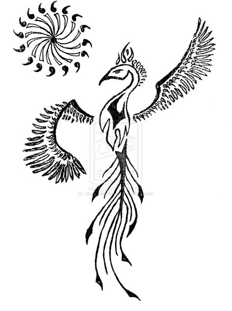 The Our Tattoo: Phoenix symbol tattoo   Kylography