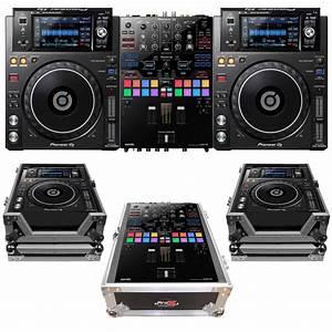 Pioneer DJ DJM-S9 XDJ-1000MK2 Package  Dj