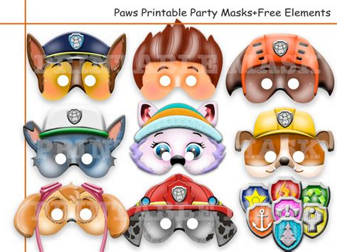 Disney Little Mermaid Pumpkin Stencils by Unique Paw Patrol Printable Masks Party Holidaypartystar