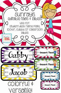 Two back to school freebies at whit39s end for Locker tag templates