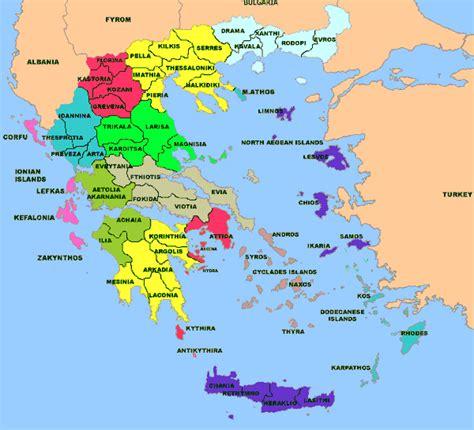 Carte Du Monde Grece Crete by Carte De La Grece Carte Gr 232 Ce Cartes