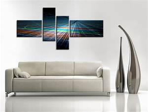 Decoration Murale Design : tableau deco murale abstraite prix r duit d co murale hexoa ~ Teatrodelosmanantiales.com Idées de Décoration