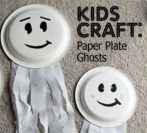 paper plate ghost 17 best images about on 2636