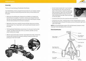 Powakaddy 1007t Robokaddy Remote Control User Manual