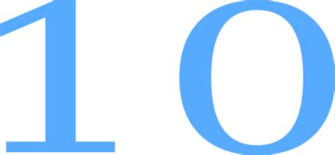 ten clipart png 10 countdown clip at clker vector clip