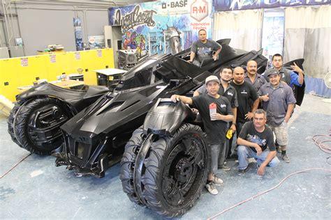 batman real car the real life batmobile from batman arkham knight rocks