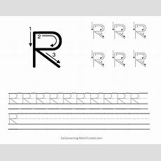 Learning How To Write The Capital Letter R  Preschool Activities And Printablespreschool