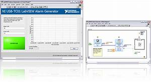 Customizing The Ni Usb-tc01 Alarm Generator