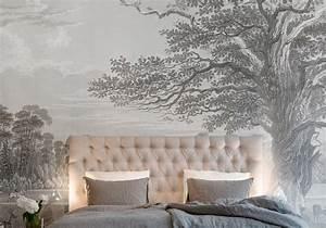 Papier Peint Tendance : 25 superbes papiers peints pour la chambre elle d coration ~ Premium-room.com Idées de Décoration