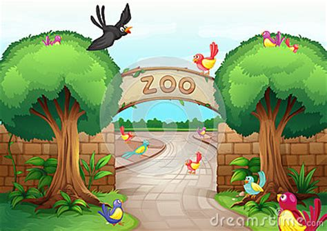 zoo scene royalty  stock photo image