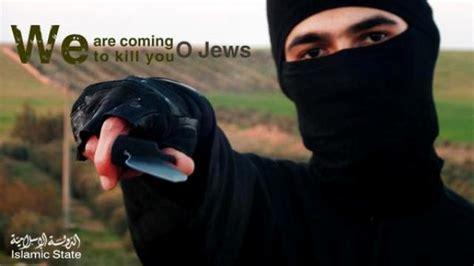 isis tweets death  jews united  israel