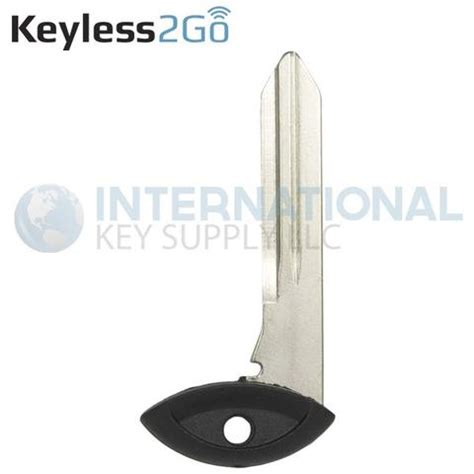 emergency key blade for chrysler fobik key fob remote keyless2go insert emergency key blade y171 for chrysler dodge jeep fob