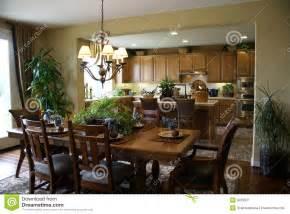 küche und esszimmer schöne küche und esszimmer lizenzfreie stockfotografie bild 9233637