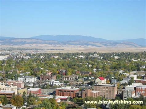 Helena Pictures : View of Last Chance Gulch and the ...